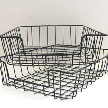 Shop Wire Baskets For Storage on Wanelo