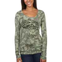 Denver Broncos New Era Women's Thermal Shirt - Camo