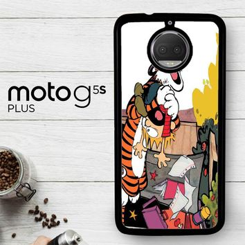 Calvin And Hobbes V0305  Motorola Moto G5S Plus Case