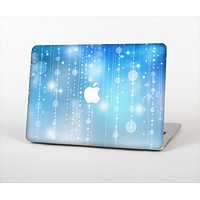 """The Translucent Blue & White Jewels Skin Set for the Apple MacBook Air 11"""""""