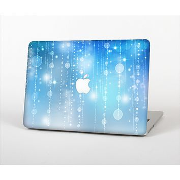 "The Translucent Blue & White Jewels Skin Set for the Apple MacBook Pro 15"" with Retina Display"