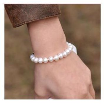 Hesiod Fashion Jewelry All-match Classic Imitation Pearl Bracelet for Women Accessories