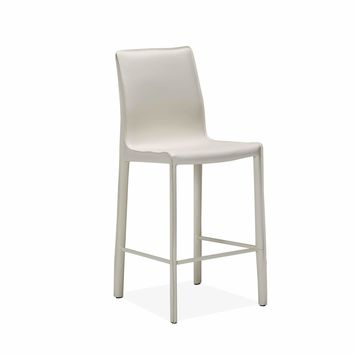 Jada Counter Stool in White