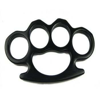 PK-807B 5502301o KNUCKLE 0s8w500su u5w0dnye SELF DEFENSE 2m1l130u0 EQUIPMENT METAL MATERIAL BLACK KNUCKLE