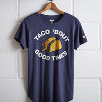 Tailgate Women's Taco 'Bout T-Shirt, Blue