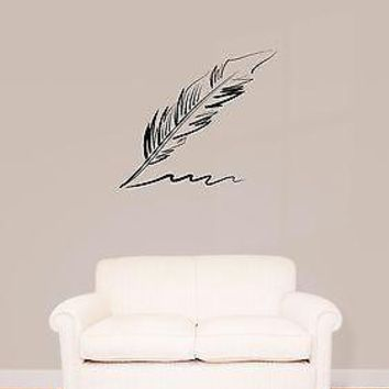 Wall Stickers Vinyl Decal Pen Writing  Cool Decor  Unique Gift (z1595)