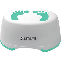 Cozy Greens® Child Step Stool | Stepping Stool for Children | Perfect for Kids Bathroom or Toddler Toilet Training | Anti-Slip Foot Stool | BONUS Potty Training eBook | Lifetime Satisfaction Guarantee