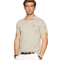 Polo Ralph Lauren Custom-Fit Stretch-Mesh Polo Shirt - French Navy