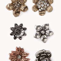 [BOGO] Burnished Flora Stud Set