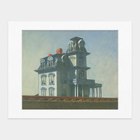 Hopper: House By the Railroad Matted Print