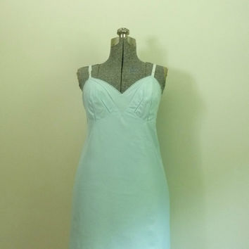 Vintage Emilio Pucci Slip Dress 1960s Powder Blue by rileybella123