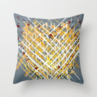 :: You Knit Me Together :: Throw Pillow by GaleStorm Artworks | Society6