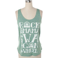 Judith March Wagon Wheel Tank