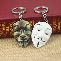 4 colors Movie V for Vendetta keychain