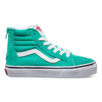 Vans SK8-Hi Zip (aqua green/true white)