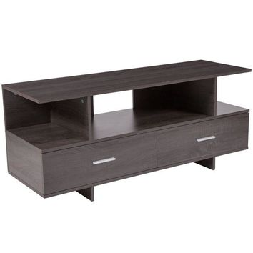 DCCKH0D Fields Wood Grain Finish TV Stand and Media Console