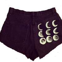 Phases of the moon by RadialWave on Etsy