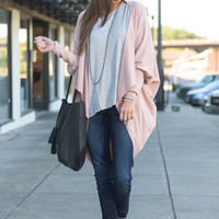 Can't Stop This Feeling Cardigan, Blush