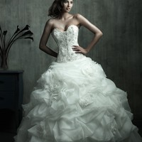 Allure Couture C170 Beaded Ball Gown Wedding Dress