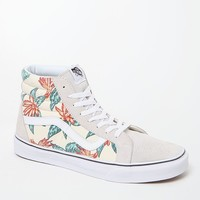 Vans Vintage Aloha SK8-Hi Reissue Shoes - Mens Shoes - White/White
