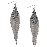 Women's Embossed Earring