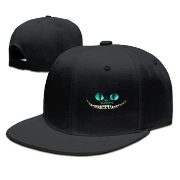 Alice In Wonderland Funny Unisex Adult Womens Snapback Caps Mens Hip-hop Hats