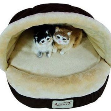 Cat Dog Pet Soft Burrow Bed Slipper Shoe Shaped Faux Waterproof Pets Beds Free