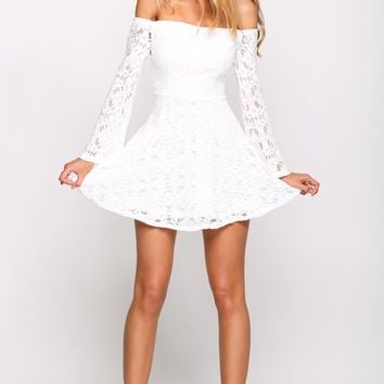 HelloMolly | Sky Full of Stars Dress White - Dresses