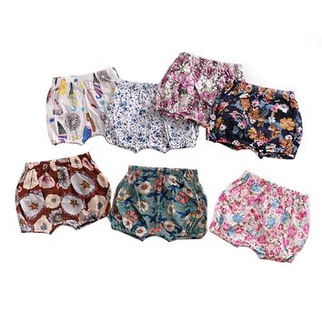 10 Styles Summer Baby Girls Boys Bread shorts Newborn Baby bloomers Baby Girl Pattern Shorts toddler Trousers PP Pants