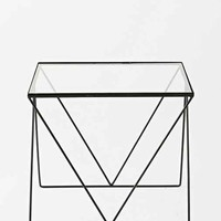 Magical Thinking Diamond Side Table- Clear One