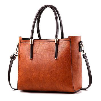 Elegant Large Fashion Tote Handbag