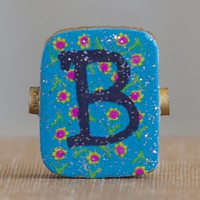 """""""B""""  Gypsy  Girl  Letter  Magnet  From  Natural  Life"""