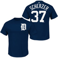 Detroit Tigers Max Scherzer Name & Number T-Shirt - MLB.com Shop