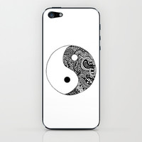 Yin Yang iPhone & iPod Skin by Abby Mitchell