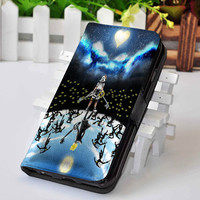 Kingdom Hearts | Video Game | Custom wallet case for iphone 4,4s,5,5s,5c,6 and samsung galaxy s3,s4,s5
