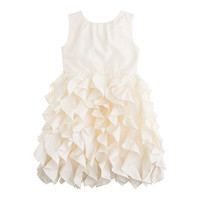 crewcuts Girls Lyla Dress In Silk Taffeta