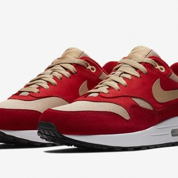 Nike Air Max 1 Curry Red