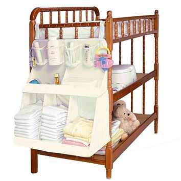 Baby Bed Bedding Set Accessories Waterproof Diapers Organizer Baby Crib Children's Bed Portable Bag