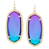 Elle Earrings in Black Iridescent - Kendra Scott Jewelry