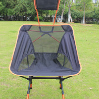 Portable Folding Chair and Headrest for Fishing Camping Hiking Garden Beach with Bag