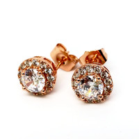 Ethereal Halo Set Stud Earrings