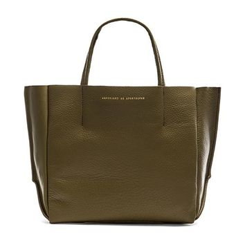 AMPERSAND AS APOSTROPHE Half Tote in Olive