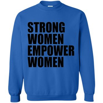 Strong Women Empower T-shirt Feminism Feminist Girl Power