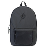 Studio Collection Ruskin Backpack Black Poly Coat