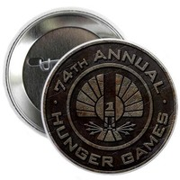 Hunger Games Rusty Seal 2.25 Button by nskiny- 615792249