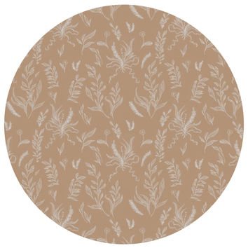 Jessica Roux's Nature Pattern Circle Decal