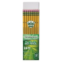 Ticonderoga® #2 Wood Pencils, 2mm, 24ct