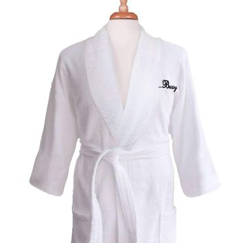 64f1a3bbea Lakeview Signature Egyptian Cotton Terry Spa Robes - Gift Shop J