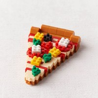 Nano Block Pizza Building Block | Urban Outfitters