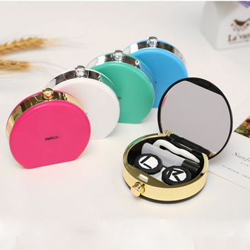 Lovers Gift Perfume Bottles Contact Lenses Case for Eyewear Accessories Contact Lens Box Eyewear Cases
